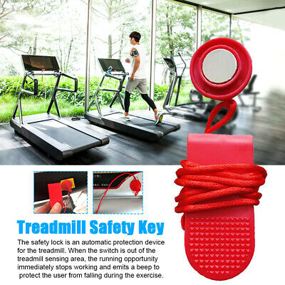 AU6.09 • Buy Fitness Equipment Running Machine Switch Lock Treadmill Safety Key With Magnet