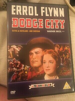 Dodge City [DVD] Errol Flynn  • 8.50£