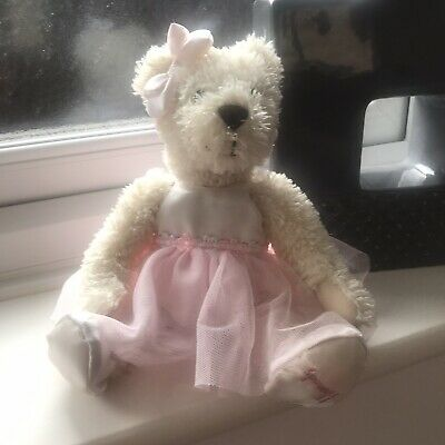 Harrods Cream Ballerina Teddy Bear Soft Toy • 19.95£