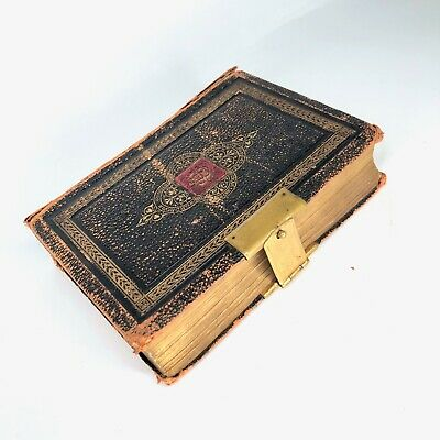 Family Holy Bible Old And New Testament C1800 's Eyre & Spottiswoode Antique  • 149.99£