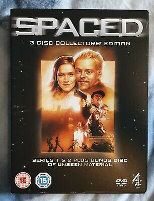 SPACED - SPECIAL EDITION DVD BOXSET 3 DISC (2006) Simon Pegg Nick Frost LTD SALE • 2.99£