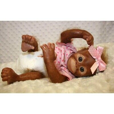 Reborn Baby Monkey, Reborn Animals, Reborn Baby Dolls • 112.36£