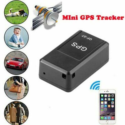 Magnetic Mini GPS Tracking Locator Car Spy GSM GPRS Real Time Tracker Device • 10.99£