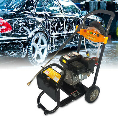 PRO 7.5HP 3600RPM Petrol High Power Pressure Jet Washer 2465PSI Commercial DHL • 190£