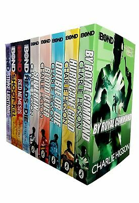 £21.99 • Buy Young Bond Series Collection Charlie Higson 9 Books Set SilverFin, Blood Fever