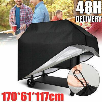 £8.99 • Buy 170CM BBQ Cover Heavy Duty Waterproof Rain Barbeque Grill Gas Garden Protector