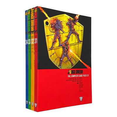 Judge Dredd Complete Case Files Volume 31-34 4 Books Collection Set John Wagner • 50.98£