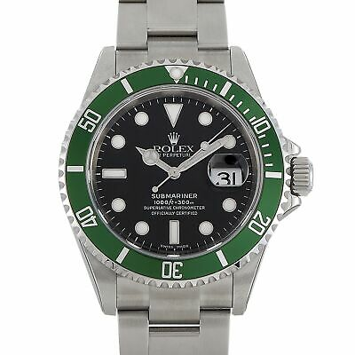 $ CDN33400.82 • Buy Rolex Submariner Date  Kermit  NOS Watch 16610LV