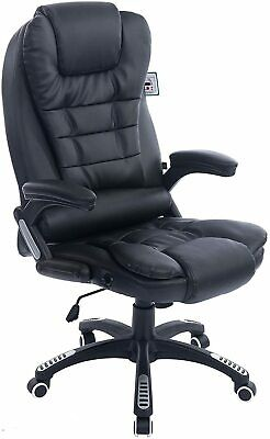 Cherry Tree Furniture Executive Recline Extra Padded Office Chair Black PU • 99.99£