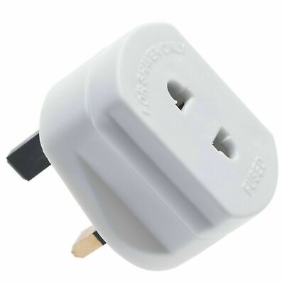 Toothbrush Adapter Electric Shaver Adapter Plug UK Charger Socket 2 Pin To 3 Pin • 2.99£