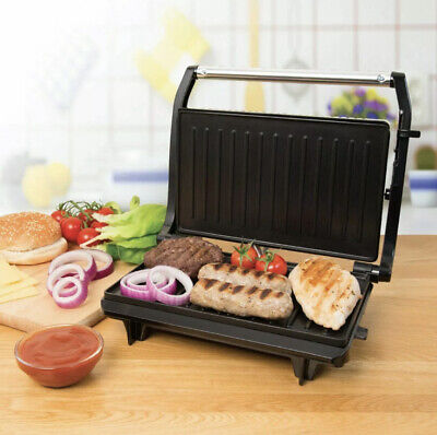 £24.89 • Buy 2 Slice Panini Press, Toasted Sandwich Maker And Multi Use Health Grill 700W