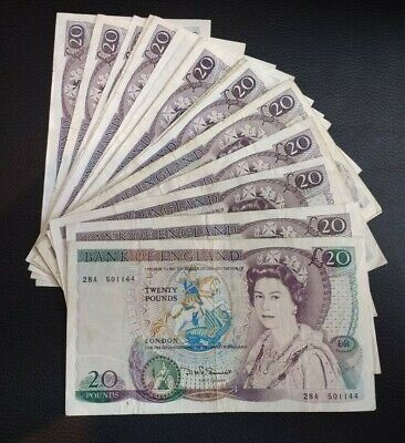£13.99 • Buy English Paper Banknotes - Choose Denom And Cashier - Wide Selection Available