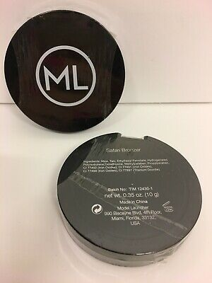 2x NEW & SEALED ML Model Launcher SAFARI Bronzer Bronzing Powder Compact 10g. • 9.99£