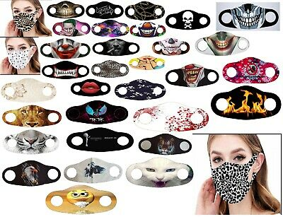 £1.98 • Buy New Reusable Face Mask Washable Masks UK Mouth Nose Breathable Protection Cover
