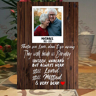 Personalised Bereavement Plaque, Sympathy Gift, Grief & Mourning Gift Plaque • 9.99£