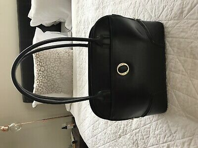 AU55 • Buy Genuine Pre Owned Oroton Melanie Grip Black Patent Leather Handbag