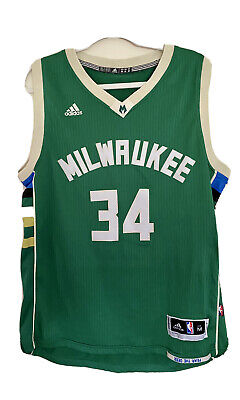 AU60 • Buy Adidas Milwaukee Bucks Jersey No 34 Size M Giannis Antetokounmpo NBA