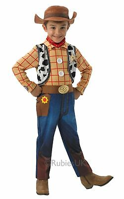 WOODY Kids Disney Toy Story Cowboy Boys Fancy Dress Costume Outfit Licensed • 22.99£