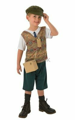 £11.99 • Buy Wartime Boy Fancy Dress 1940s Childrens Kids Book Day Week 1930s Costume Outfit