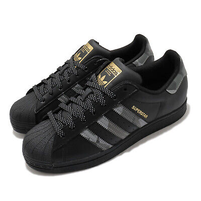 $ CDN175.98 • Buy Adidas Originals Superstar Black Gold Grey Camo Men Women Unisex Classic FX9087