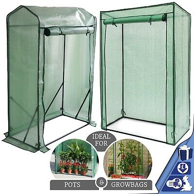 Greenhouse Garden Tomato Plant Growbag Cover Green House Reinforced Flat / Gable • 19.95£
