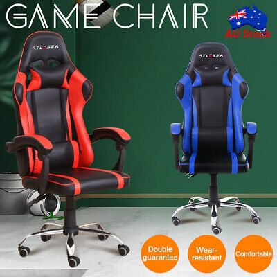 AU126.26 • Buy Office Chair Gaming Chair Ergonomic Computer Mesh Chairs Executive Black AU