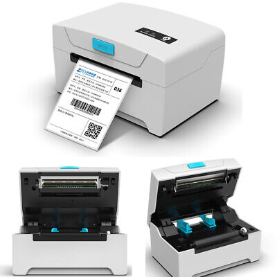 USB White 80mm Thermal Label Printer Continuous Paper Barcode Printing Machine • 55£