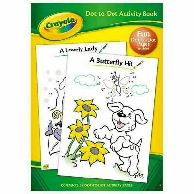 Crayola Dot-to-dot Activity Book Children Kids Drawing Fun Colouring Book 2965 • 2.90£