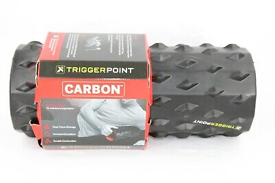 AU50.22 • Buy  NEW  Trigger Point Performance Carbon Deep Tissue Foam Roller - Black