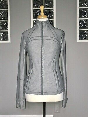 $ CDN88 • Buy Lululemon Define Jacket 8 Heathered Slate Gray Shape Euc