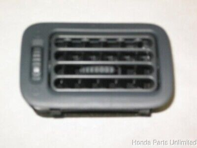 $20 • Buy 96-00 Honda Civic OEM Right Passenger Side Dash A/C Air Vent Duct -Light Gray