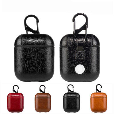 $ CDN4.86 • Buy Leather Airpods Earphone Protective Case Cover For Apple AirPod Accessories