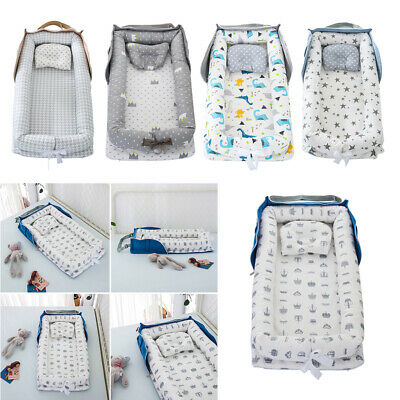 £26.12 • Buy Portable Newborn Baby Cot Nest Bed For Boys Girls Crib Travel Bed Infant Cotton