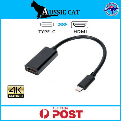 AU10.95 • Buy Type C USB-C 3.1 To HDMI Adapter Cable Converter For MacBook Samsung ChromeBook
