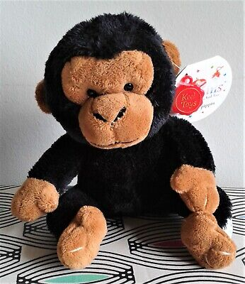 Keel Toys Monkey Chimp  6  Soft Toy Plush Beanie Comforter. WITH TAGS EXCELLENT  • 9.99£