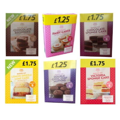 £3.50 • Buy Happy Shopper Assorted Cake Home Baking Packet Mix (Pack Of 2 Mixes)