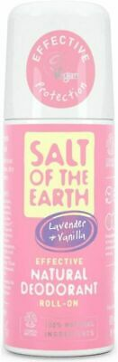£7.19 • Buy Natural Deodorant Roll On By Salt Of The Earth, Lavender & Vanilla -...