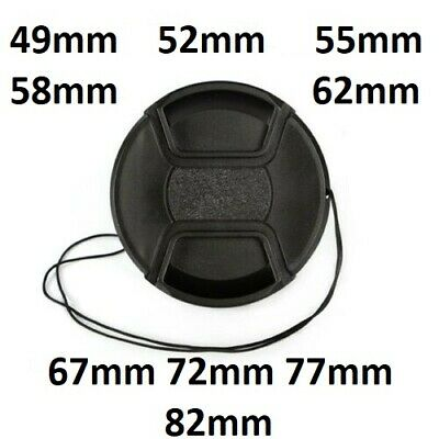 AU5.50 • Buy Front Lens Camera Protect Cap Cover For Sony Nikon Olympus Canon Panasonic Fuji