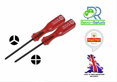 Nintendo Tri Wing & Philips Screwdriver Set For Switch Wii U Gameboy DS GBA SP  • 2.45£