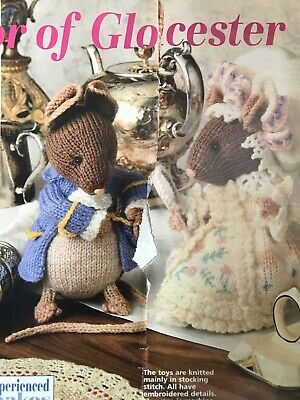 Alan Dart Beatrix Potter Toy Knitting Pattern • 35£
