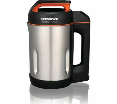 Morphy Richards 501022 Compact Soupmaker, Silver - Stainless Steel New • 63.95£