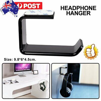 AU8.95 • Buy Universal Gaming DJ Gamer Headphone Stand Headset Hanger Bracket Holder Rack !R