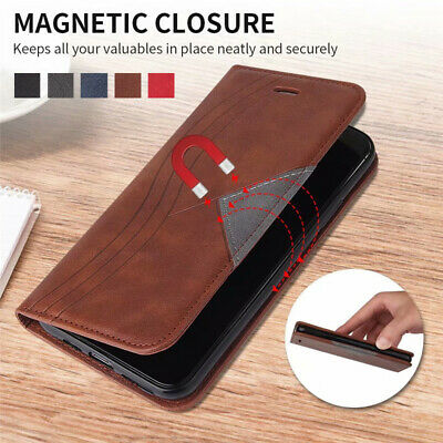 $ CDN8.55 • Buy For Samsung Galaxy Note 20 10 Plus 9 8 Magnetic Leather Flip Wallet Case Cover