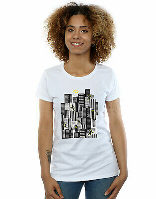Disney Women's The Incredibles Skyline T-Shirt • 16.99£