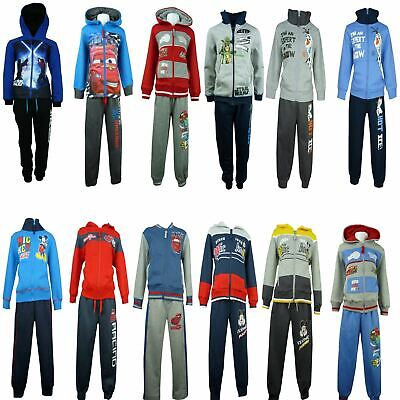 Boys Tracksuit / Jogging Set Disney Cars Star Wars Mickey Mouse Frozen Olaf • 16.50£