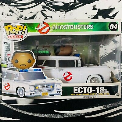Funko POP! Rides Ecto-1 With Winston Zeddemore Used Very Fine Condition • 46.07£