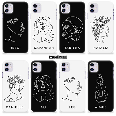 AU11.29 • Buy PERSONALISED PHONE CASE NAME FACE ABSTRACT ART INITIALS FOR IPHONE 11 Pro Max
