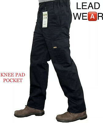 £13.20 • Buy Mens Combat Cargo Work Trousers Size 30 To 42 With KNEE PAD POCKETS Black Navy