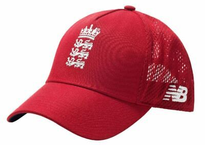 England T20 2020/21 Cricket Red Official Cap Hat Brand New  • 32.99£