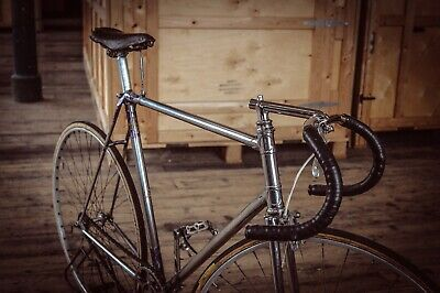 $ CDN1964.72 • Buy Vintage Original 1951 Hill Special Chrome Track Bicycle Chater Inch Pitch Eroica